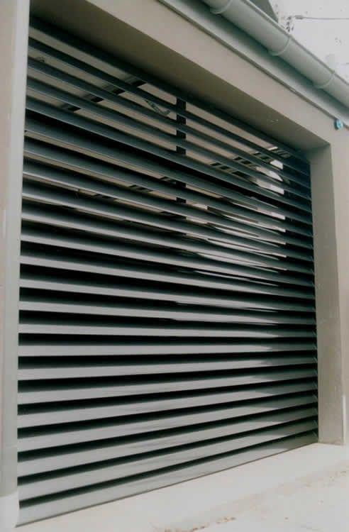 Ventilation Plant Room Louvres Blind Solutions